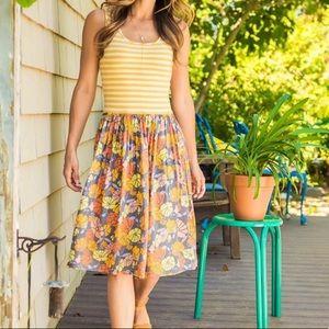 Matilda Jane Summer Sunset A-Line Floral Dress
